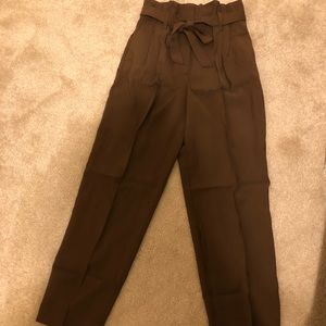 H&M waist tie pants